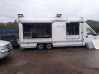 eda3da04ff Catering trailer lpg equipment burger van mobile kitchen food drinks stand  ice cream sweets