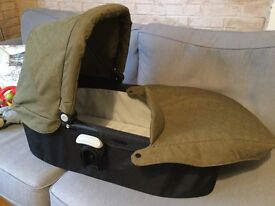 Carry cot for Graco Evo in Khaki