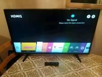 """43"""" LG LED SMART FULL HD TV"""