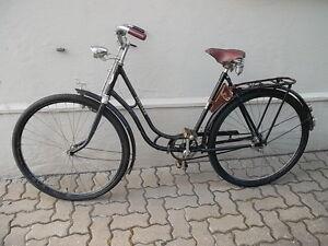 STRICKER Fahrrad ~ 1940 Oldtimer Art Deco Antik-Rad Vintage *Gute ERHALTUNG*