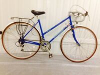 Beautiful Pristine ladies Road Bikes Raleigh Peugeot, Dawes NOS Fully Serviced