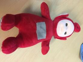 Talking plush teletubby Po