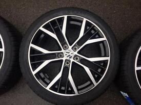"Vw Audi A3 golf caddy Santiago 18"" alloys new"