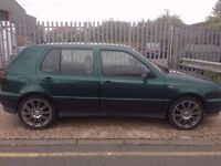 Volkswagen Golf 2.8 VR6 5dr LEATHER SEATS ALLOY WHEELS