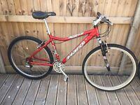 Haro Escape Mens Mountain Bike Rockshox Shimano