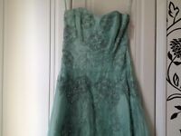 Bridesmaid or Prom dress - corset style top with full skirt from Monsoon (size 8)
