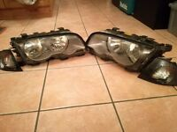 Brand New BMW E46 Lights With Indicators