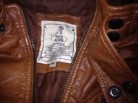 Men leather jaket