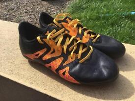 Adidas X Football Boots, UK size 3