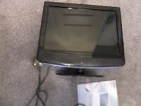 Technika pro 15 inch HD ready tv with freeview and integrated DVD Player