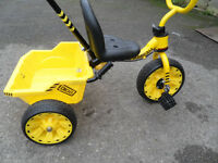 Sunbeam Digg Trike Designed by Raleigh Kids Childs Boys Brand New Fully Built
