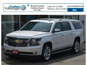 2016 Chevrolet Suburban 4x4 Navigation Air Conditioned Seats