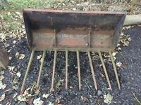 Muck Bucket, Tractor, Farm Implement, Agricultural