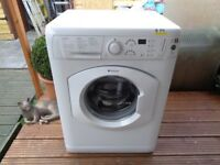 HOTPOINT WASHING MACHINE 1600 RPM 7 KG LOAD