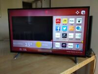 Hitachi 49 inch smart led tv