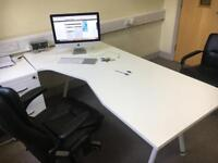 Office desk with 2 chairs