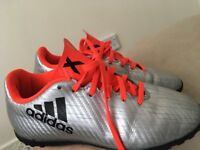 Boys Adidas trainers and Nike football boots size 1