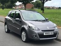 2009 59 RENAULT CLIO 1.5 DCI £30 TAX DYNAMIQUE SPORT TOURER 5DR LOOKS AND DRIVES GREAT++BARGAIN++