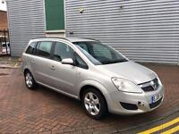 VAUXHALL ZAFIRA 1.8 2008 7 SEATER WITH PCO