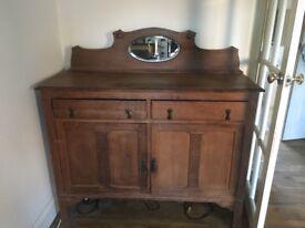 Antique sideboard cupboard