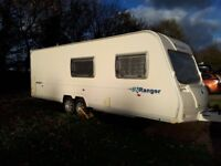 2008 Bailey ranger 620/6 anniversary edition , fixed bed, awning