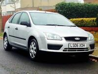 FORD FOCUS 1.6 LX AUTO 2006 49k WARRANTED MILEAGE SERVICE HISTORY MOT 3 MONTHS WARRANTY INC