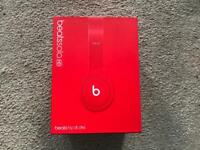 Genuine Beats HD Solo RED edition boxed in excellent condition