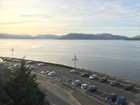 1 Bedroom flat in Gourock for rent, own balcony, fantastic views.