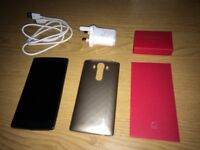 Lg G4 32gb leather excellent condition