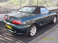 MG MGF.1.8cc..Fully Restored..Great For Summer..Mot.04/17