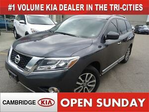 2014 Nissan Pathfinder SL / NAV / LEATHER / AWD Cambridge Kitchener Area image 1