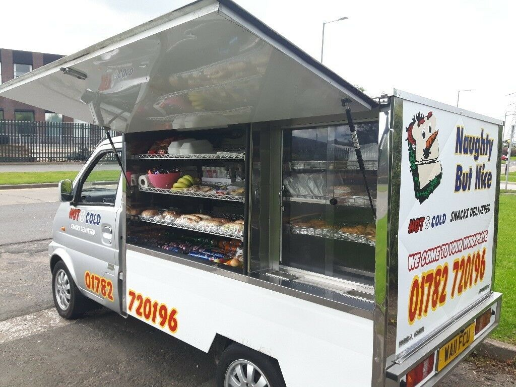 13b5a59a5b Jiffy truck style snack van for sale