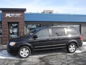 2012 Dodge Grand Caravan Crew SXT CUIR DVD