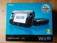 Nintendo Wii U Premium Pack 32 GB Black Nintendoland bundle