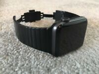 Apple watch series 2 - 42mm, with link bracelet strap - as new