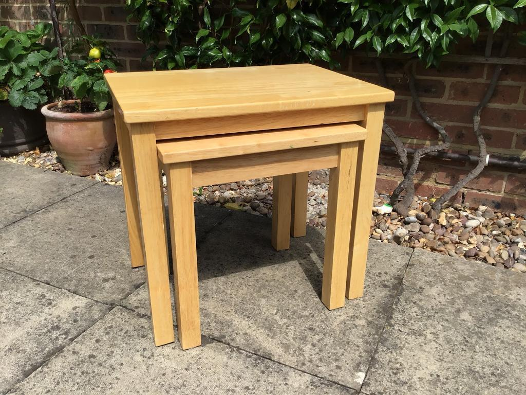 Two John Lewis coffee tables | in Romsey, Hampshire | Gumtree