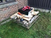 Free pile of wood