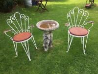 Antique Garden Chairs x2