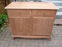 Sideboard- stag minstrel 2 door- ALL READY SANDED FOR YOU TO PAINT