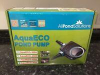 AquaEco-8000 pond pump brand new in a box.