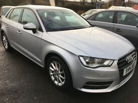image for Audi A3 1.2 TFSI SE, 2014, Manual - £66 PER WEEK - CAR IS £9495
