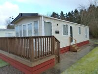 IMMACULATE 1 OWNER FROM NEW STATIC CARAVAN WITH DECKING