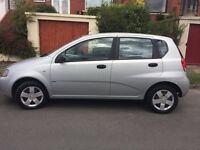 Chevrolet Kalos silver 2006 - 2 OWNERS low mileage 2 with MOT until March