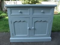 Hand Painted Pine Cupboard, open to offers.