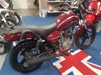 Brand new Zontes Tiger 125. Learner legal commuter similar to YBR 125 finance options availible