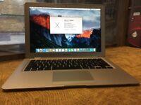 Apple MacBook Air 13 2009 1.86GHz 2GB RAM 120GB SSD Brand New Battery Working!