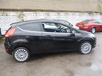 Ford FIESTA Titanium 90,1560 cc 3 dr hatchback,runs and drives well,great on fuel,only £20 road tax