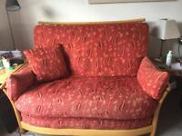 Ercol sofa and chair.
