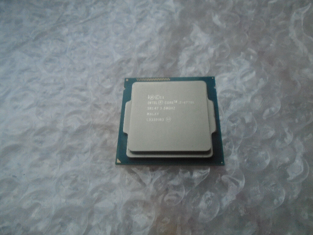 i7 4770k processor, socket 1150, cpu only, in fantastic ocndition, if ad here, it still for sale.