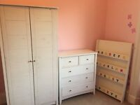 John Lewis Child's Nursery Wardrobe, Chest of Drawers